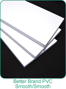 Better Brand PVC trim boards Smooth/Smooth